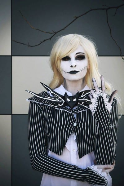 Female Jack Skellington Costume Made By Me Photo By Decade Three