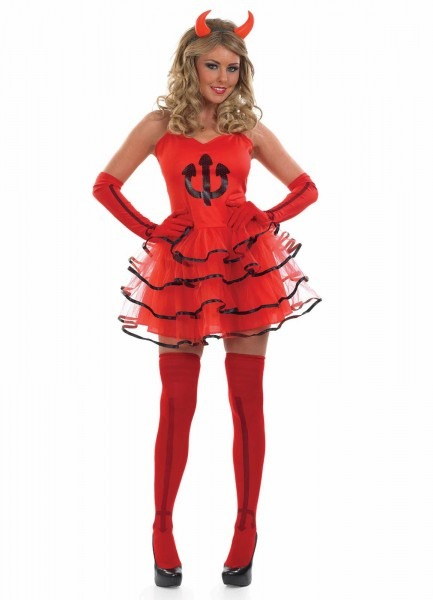 Devil Costumes (for Men, Women, Kids)