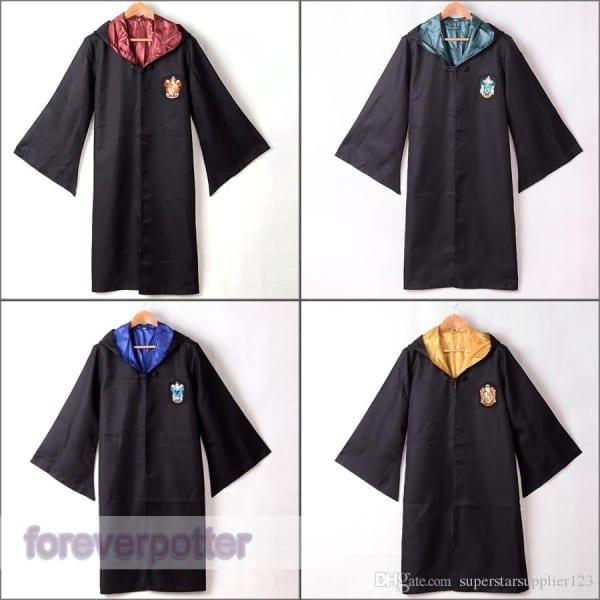 Adult Harry Potter Costume Hogwarts Gryffindor Slytherin