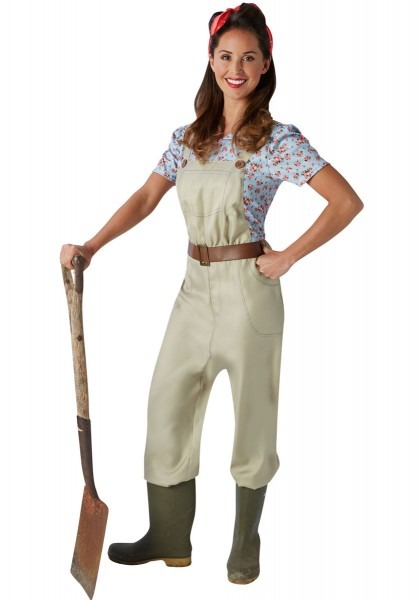 Land Girl Lady Costume