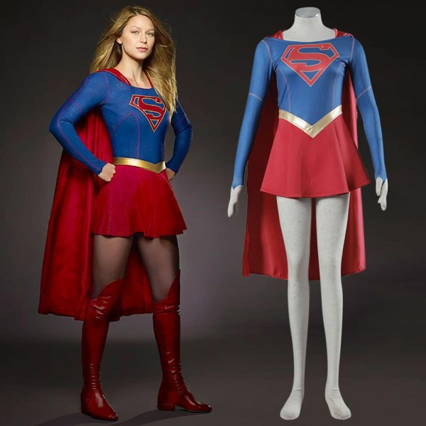 The Supergirl Tv Series Cosplay Costume