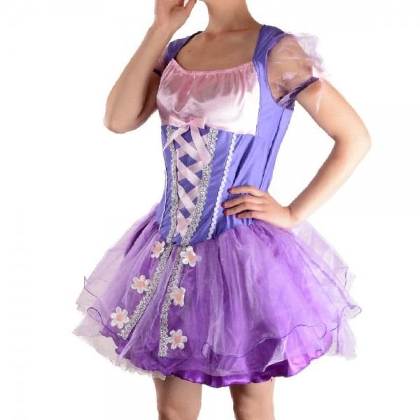Adult Tangled Rapunzel Costume Princess Cosplay Halloween Costumes