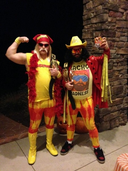 Macho Man Randy Savage And Hulk Hogan Halloween Costumes
