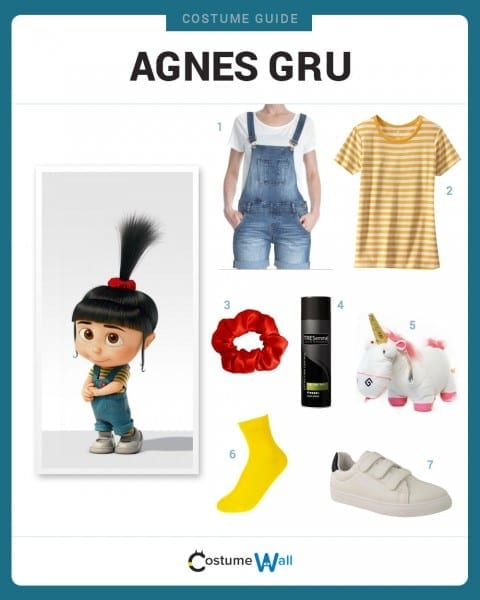 Dress Like Agnes Gru Costume