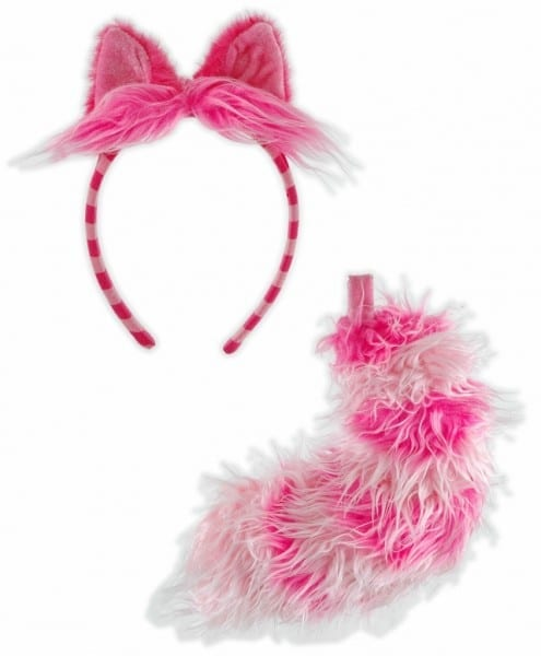Alice In Wonderland Cheshire Cat Ears And Tail