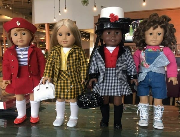 American Girl Dolls Dress Up As Characters From Clueless  – Q Is