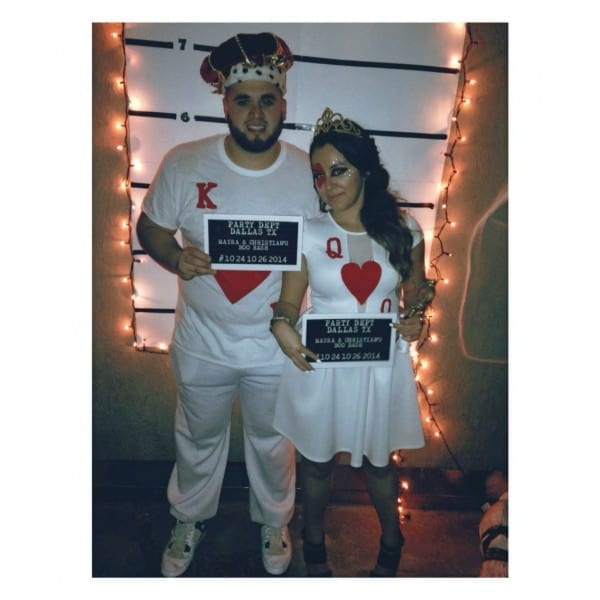 Diy King & Queen Of Hearts Costume