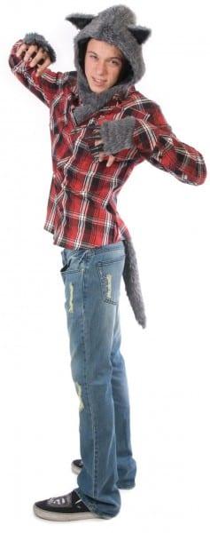 Mens Wolf Costume Kit