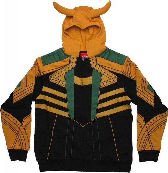 Thor Loki Costume Hoodie
