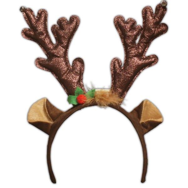 Led Reindeer Antlers Headband