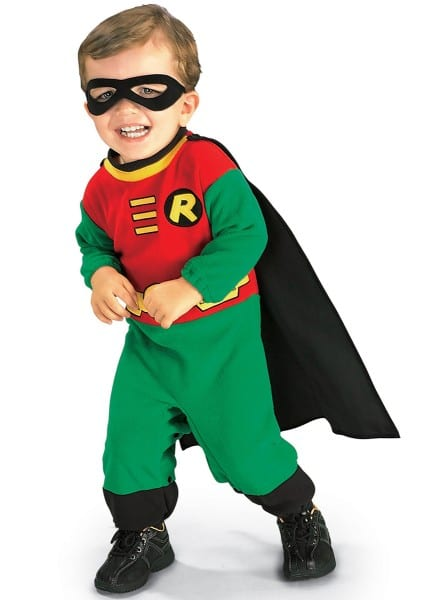 Batman's Robin Baby Costume  Fast Delivery
