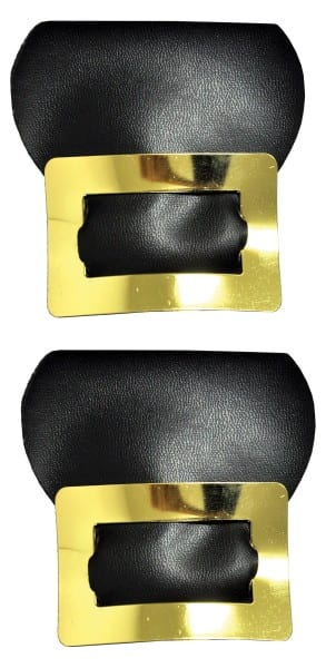 Adult Mens Colonial Shoe Buckles Gold Or Silver Halloween Costume