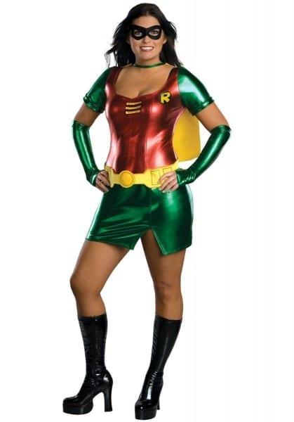 Sexy Robin Costume, Plus Size