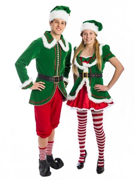 Christmas Elf Couple Costumescreative Costumes