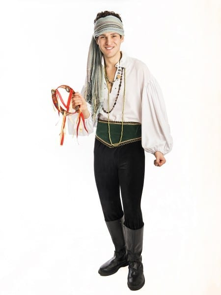Travelling Gypsy Mens Costume