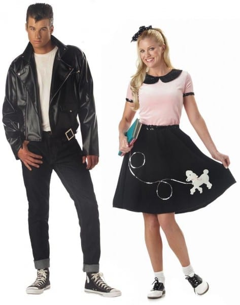 50s Greaser & Poodle Skirt
