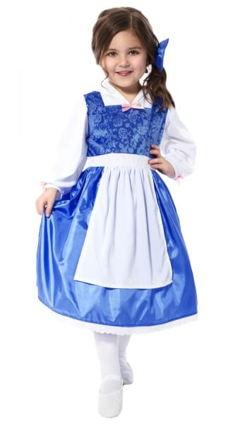 Princess Belle's Blue Day Dress