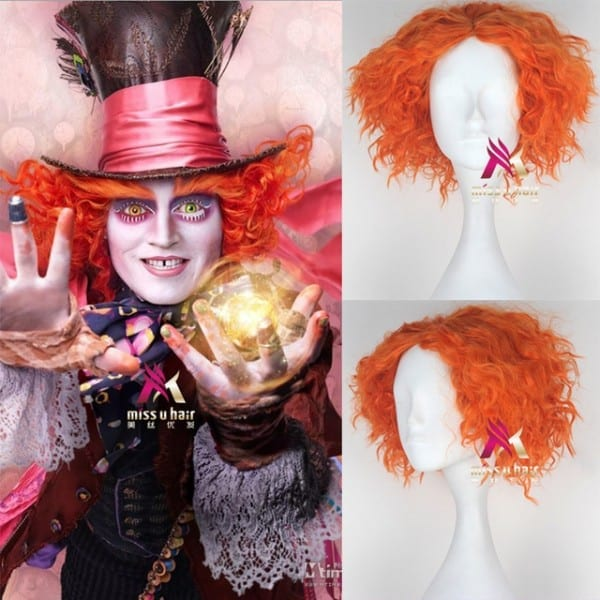 Biamoxer Alice In Wonderland 2 Mad Hatter Tarrant Hightopp Orange