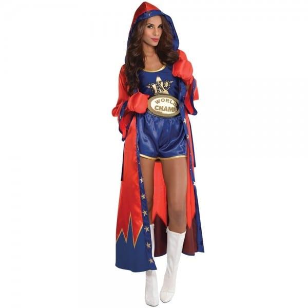 Boxer Girl Costume