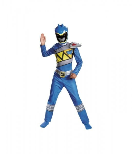 Power Rangers Dino Charge Blue Ranger Boys Costume