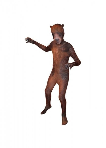 Animal Planet Grizzly Bear Morphsuit Boys Costume