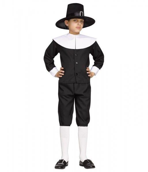 Thanksgiving Pilgrim Boys Costume
