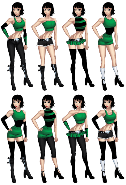 Buttercup Outfits  By Xgeekpower On Deviantart