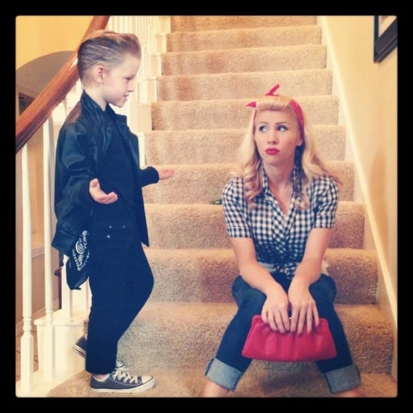 Mother Son 50's Costume