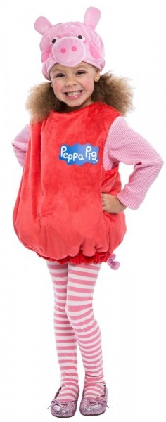 Peppa Pig Toddler Halloween Costume, 3t
