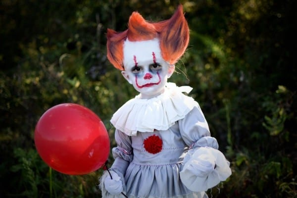 3 Year Old Turns Into Pennywise Clown From The Movie It  Toddler