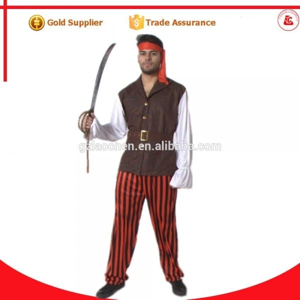 Carnival Party Sexy Adult Jake The Neverland Pirate Mascot Costume