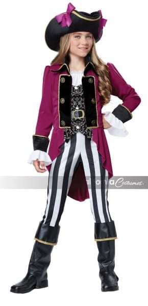 Kids Fashion Girls Pirate Costume