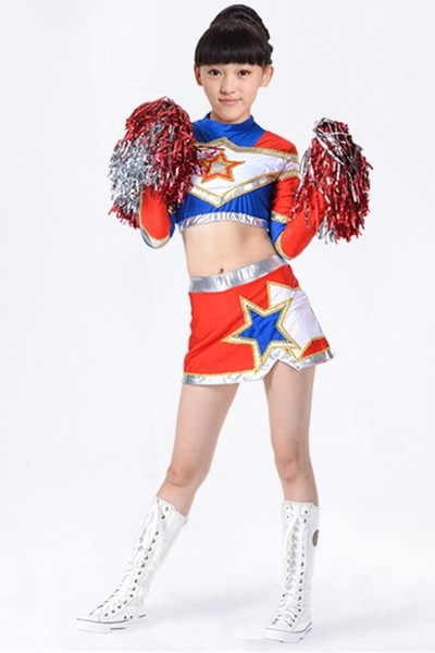 Cheerleading Costume Boy And Girl Cheerleader Clothing Aerobics