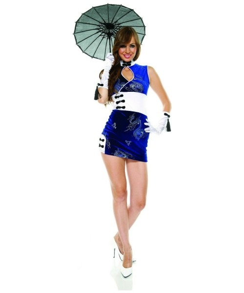 Adult China Doll Asian Halloween Costume
