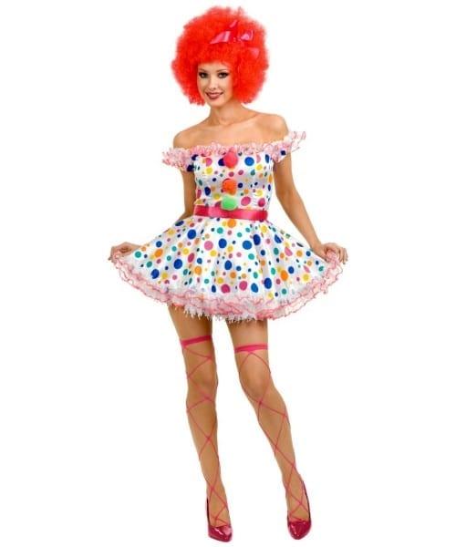 Clown Circus Adult Costume