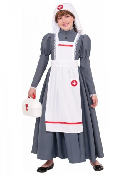 Cilvil War Nurse Girls Costume