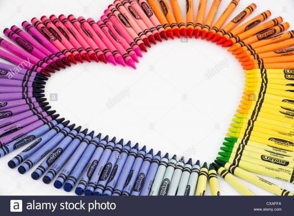 Crayola Crayon Stock Photos & Crayola Crayon Stock Images