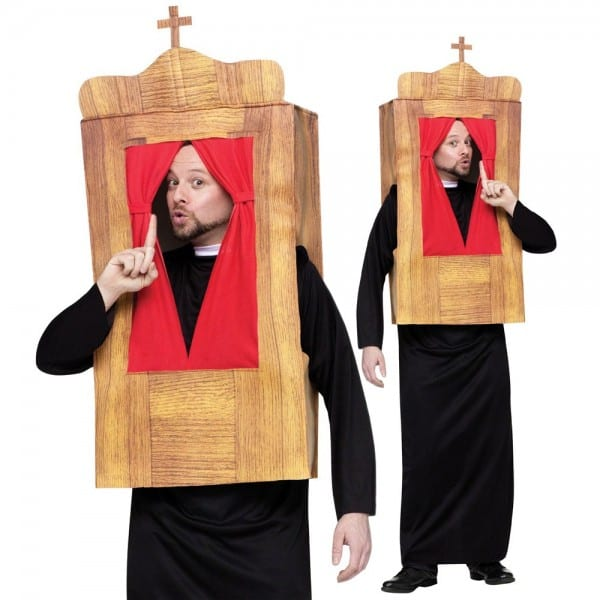 Confession Priest Funny Costume