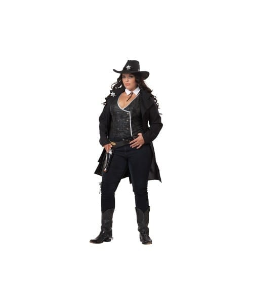 Cowgirl Round Em Up Plus Size Adult Costume