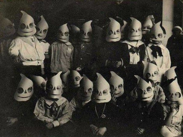 Creepy Halloween Costumes From The Past