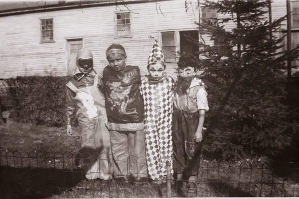Creepy Kids Wearing Creepy Old Halloween Costumes