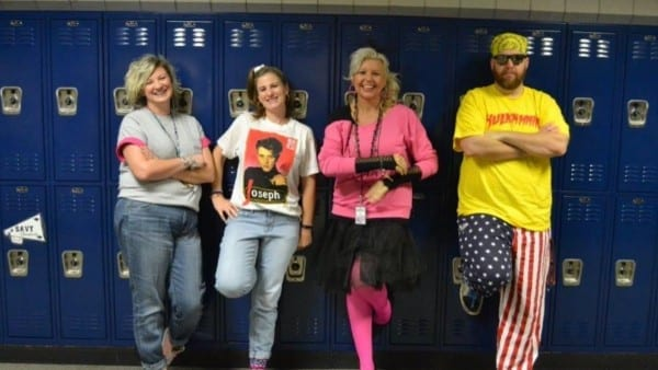 Chad Stolle On Twitter   80's Decade Day Dress Up For Today's Pep