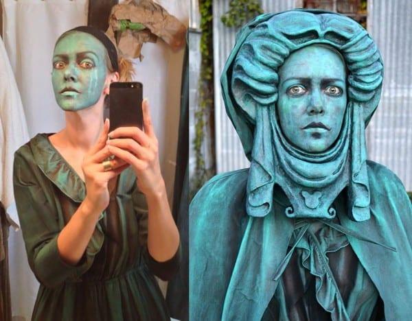 Madame Leota Living Statue Costume  Latest News, Breaking