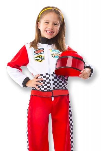 Amazon Com  Melissa & Doug Race Car Driver Role Play Costume Set