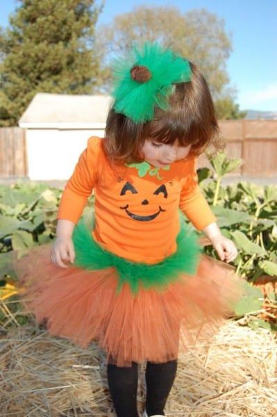 Diy Pumpkin Costume Toddler