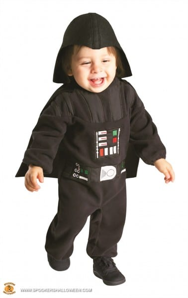 Darth Vader Costumes For Infants And Toddlers Spookers Halloween