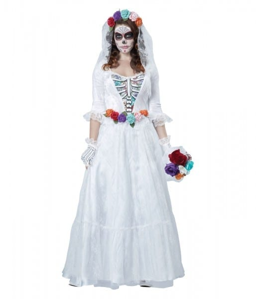 Day Of The Dead Bride Woman Costume