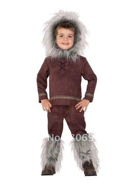 How To Make Children's Eskimo Costume