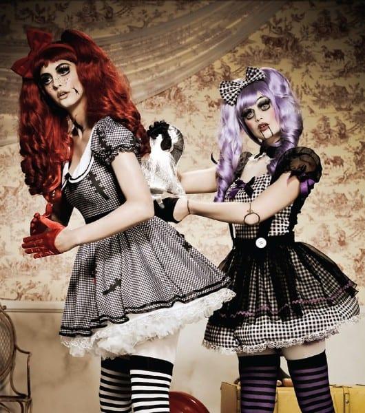 Dead Eye Dolly Creepy Doll Costume From Leg Avenue