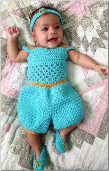 Disney Jasmine Baby Costume